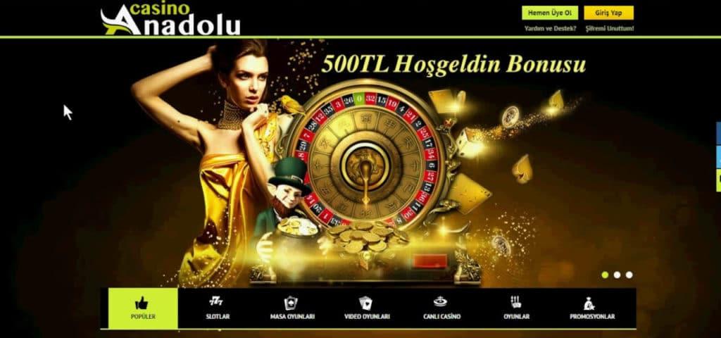 Anadolu Casino Giris Adresi Nedir