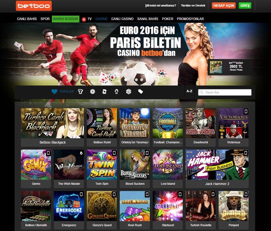 Betboo Canli Casino Sitesi hakkinda incelemeler