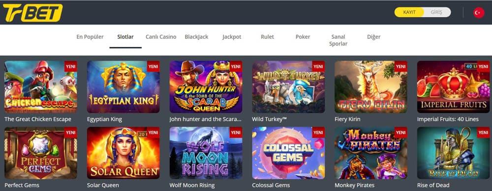 Canli Casino Oyunlari - Rulet - Slot Oyunlari - Poker - Blackjack 21