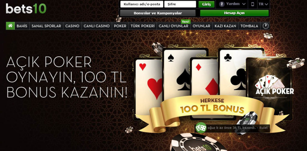Turkce Poker Masalari ve Turnuvalari