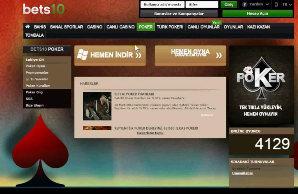 Poker Turnuvalari Kayit ve Siteleri