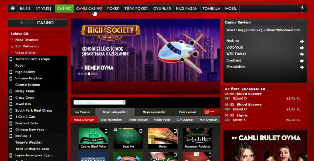 Ucretsiz Casino Bonusu Veren Kumar Siteleri